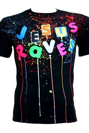 Jesus Raves T-shirt