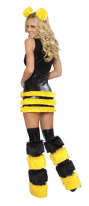 Queen Bee Rave Costume Back