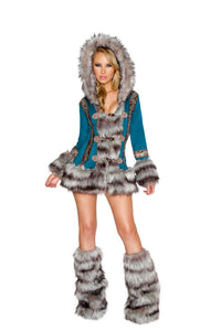J. Valentine Turquoise Eskimo Outfit