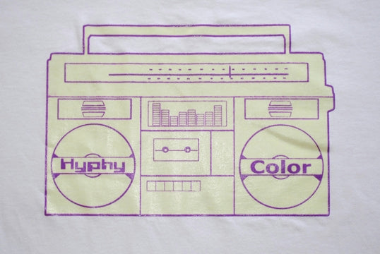 Hyphy Color Ghetto Blaster Shirt