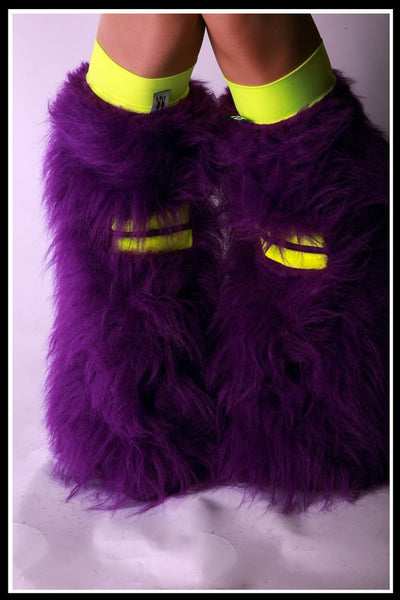 Hi-Viz Purple & Yellow Fluffies