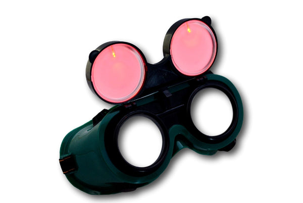 See Through Cyber Goth Goggles