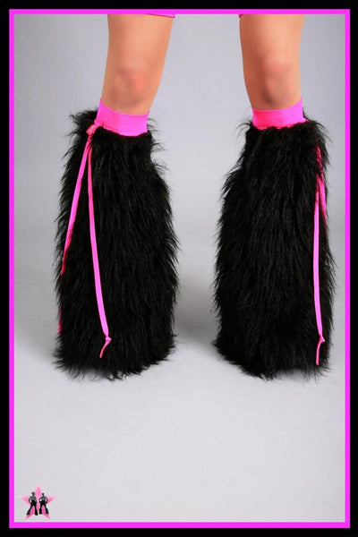 Ribbon Black & Pink Fluffies