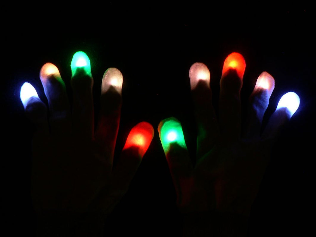 Reptile LED Rave Gloves Gloveset