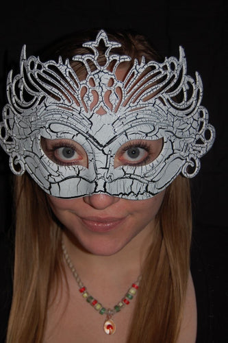 Masquerade Mask- White