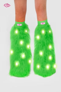 Lime Light-Up Fluffies