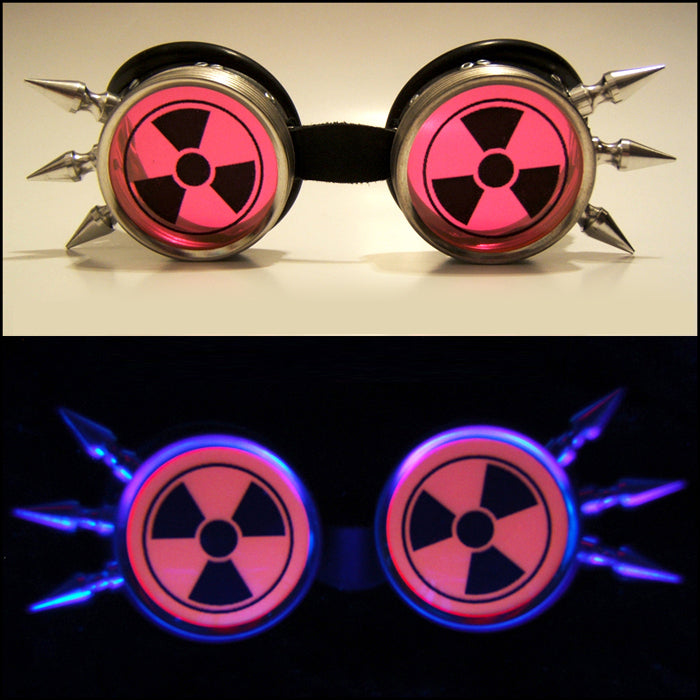 Opaque UV Red Nuclear Goggles