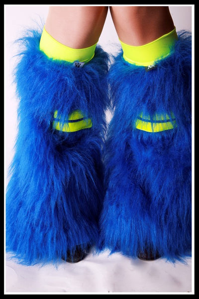 Hi-Viz Blue & Yellow Fluffies