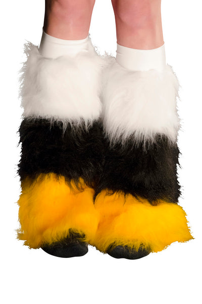White, Black, & Gold Fluffies 2