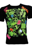 Mash Up Green T-shirt
