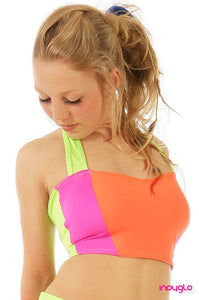 Electrik Orange Halter Top (OPTIONAL)