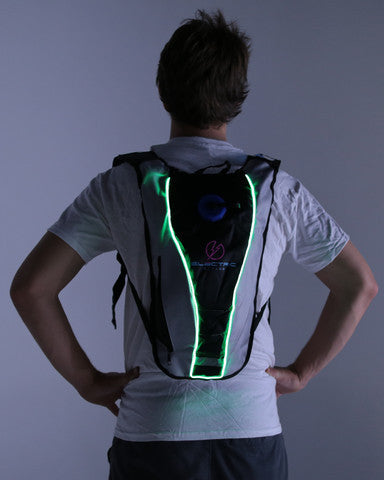 Lime Green Hydration Pack