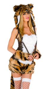 Sabertooth Rave Costume Front