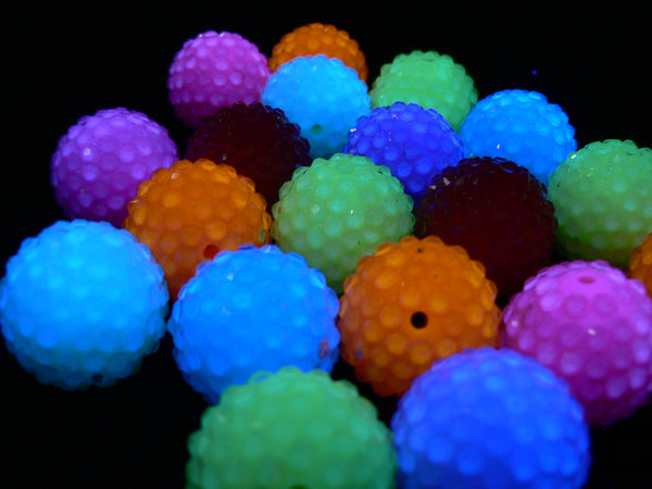 Brightly Colored Disco Ball Beads – assorted