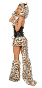 Frisky Kitty Rave Costume Side