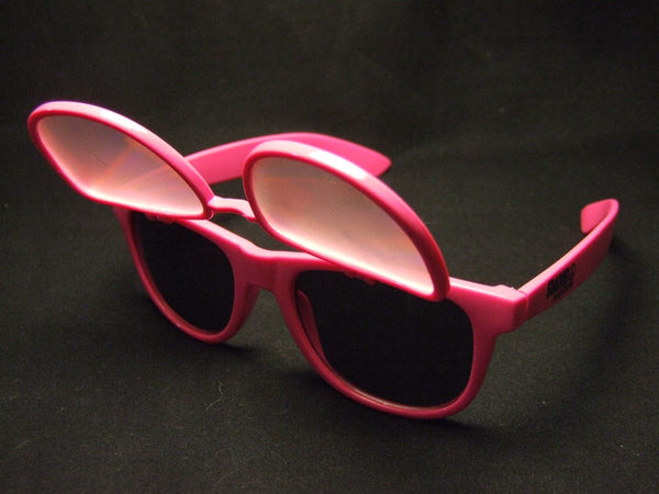 Pink Diffraction on top Sunglasses