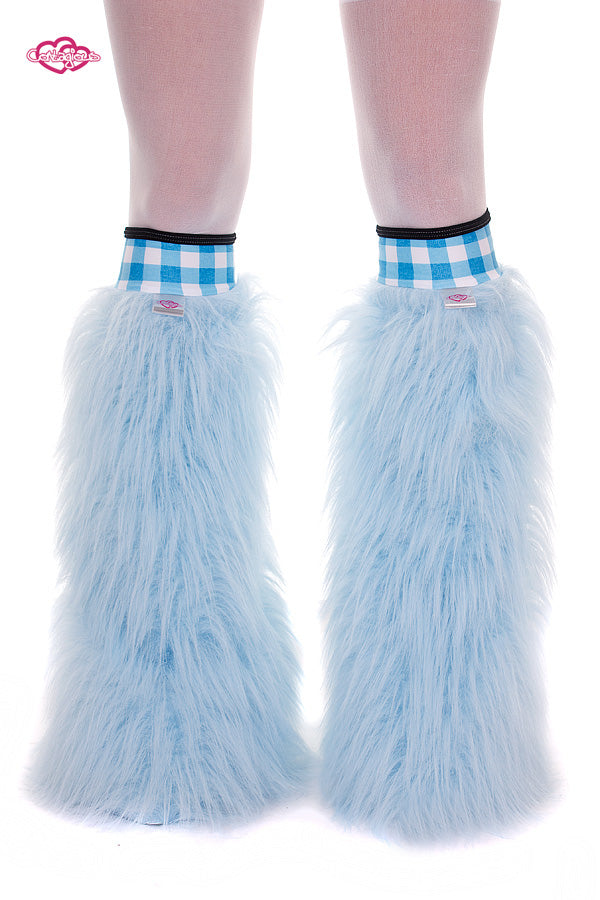 Light Blue Gingham Fluffies