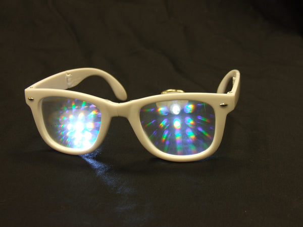 Rainbow Diffraction Vision Glasses