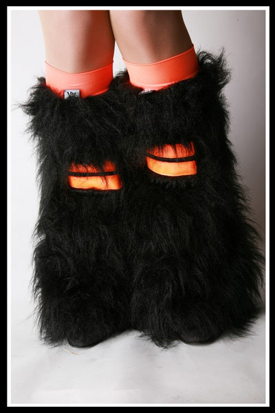 Hi-Viz Black & Orange Fluffies