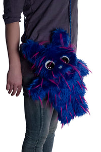 Furry Festival Friends Head Fanny Pack or Shoulder Strap Bag