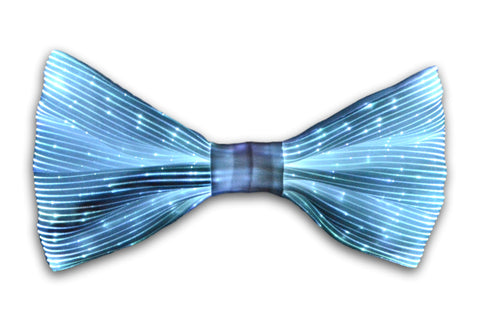 glowing bow tie
