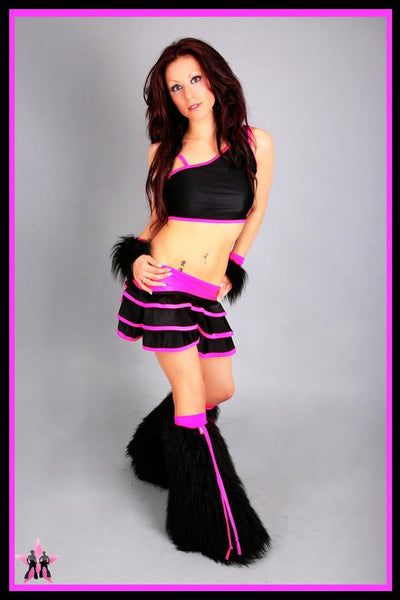 Shake Black & Pink Outfit