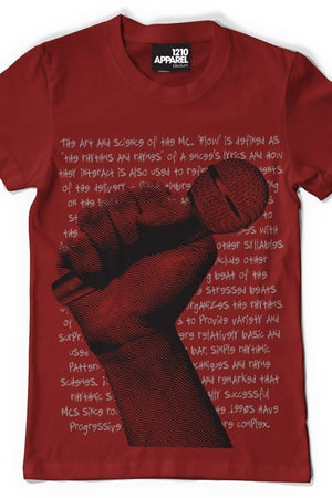 Microphone T-shirt (Red)