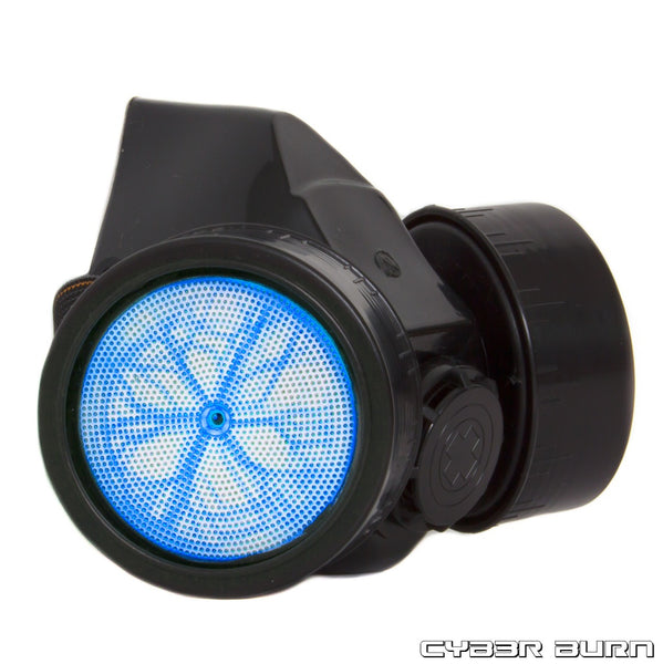 Blue Plasma Gas Mask