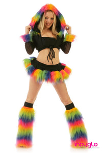 Pogo Outfit Rainbow Black outfit