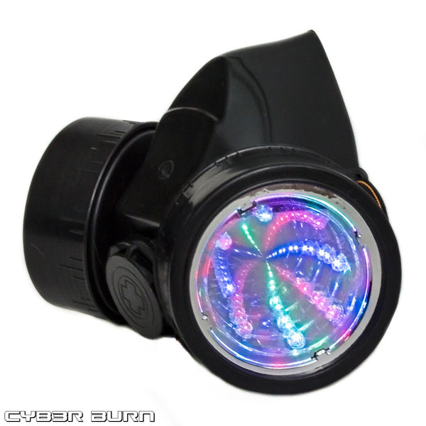 Tunnel LED Gas Mask