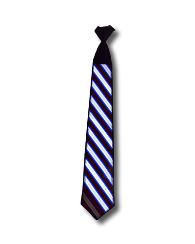 Sound Activated Tie - Striped