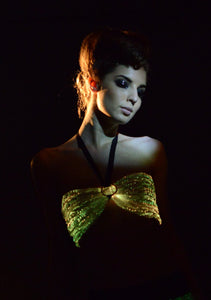 Fiber Optic Light up Bra
