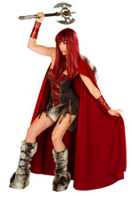 Dragon Slayer Rave Costume Front with Cape (Axe not included)