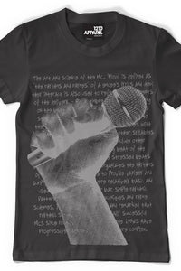 Microphone T-shirt (Black)