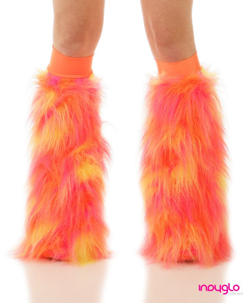 Solar Fluffies with Orange knee bands