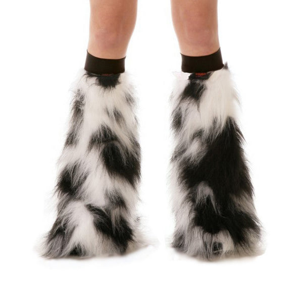 Black and White Fluffies with Black Kneebands