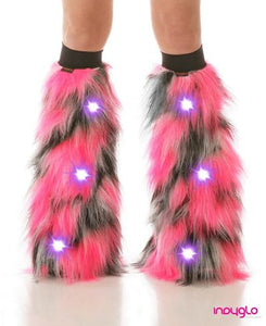 Pink Pulsar LED Fluffies