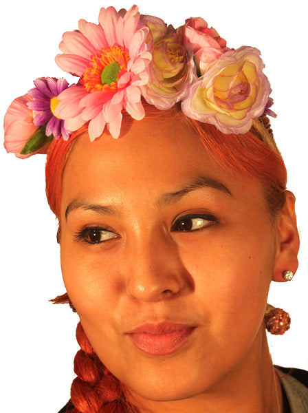 Assorted Flower Crown Head Band
