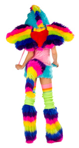 Rainbow Pony Rave Costume Back