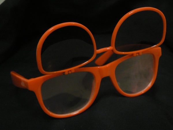 Rainbow Diffraction Vision Sunglasses- Orange