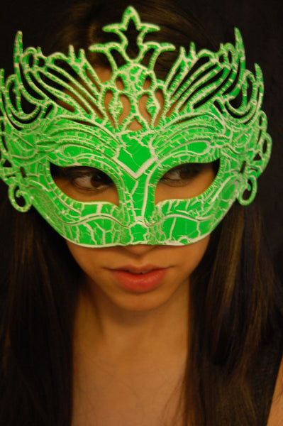 Masquerade Mask- Green