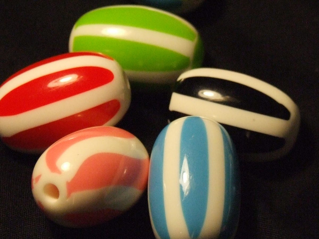 Candy Cane Beads