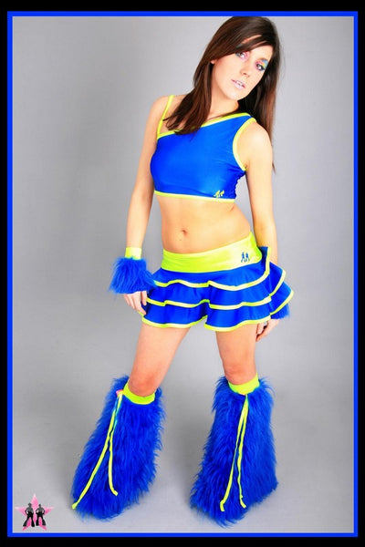 Shake Blue & Yellow Outfit