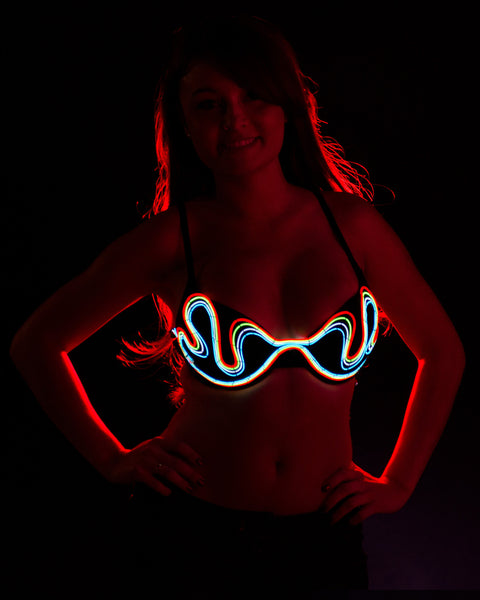 Light-up Bra -Too Sexy