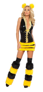 Queen Bee Rave Costume Front