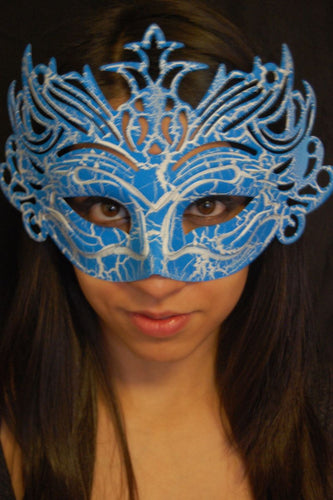 Masquerade Mask- Blue