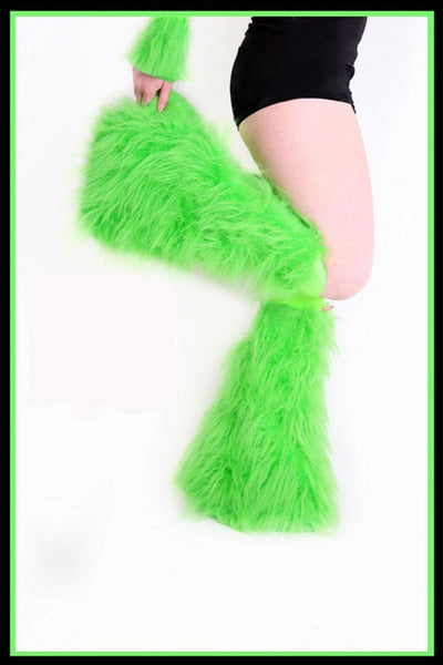 Essential Green Fluffies