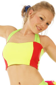 Electrik Yellow Halter Top (OPTIONAL)