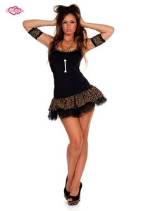 Cave Girl Outfit with optional tutu