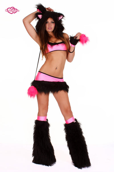 Whiskers Kitten Rave Outfit Front